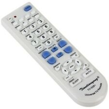 White / Universal Tv Remote Control / SONY SHARP SAMSUNG * ( International Use )