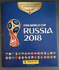 PANINI Official Sticker Album for FIFA World Cup Russia 2018 +SIX FREE STICKERS*