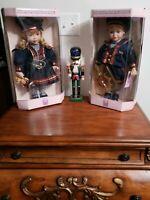 "Sailor Boy GIrl Porcelain Doll 16"" Collectible Memories Jennifer Karl Teddy  NEW"