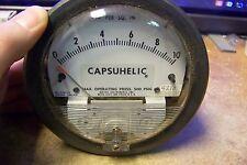 NOS Capsuhelic 4210, Series 4000, Differential Pressure Gauge, Range 0-10PSID