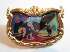 Disney Golden Filigree Frame Timothy and Circus Ringmaster Dumbo Pin LE 1500