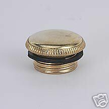 ALADDIN BRASS FILL PLUG FOR VENE,COLON,CATH