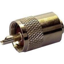 Pl259 Conector Plug De 5.2 Mm Cable-Rg58
