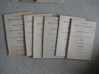 Lot of 6 1911 PA Agriculture Zoology Bulletins Booklets FIRST 6 ISSUED!