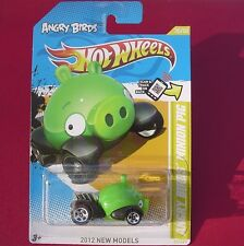 Angry Birds Minion Pig. GREEN 2012 New Models.  New in Blister Pack!