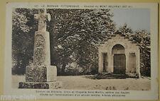 "CPA "" LE MORVAN PITTORESQUE - Sommet du Mont Beuvray"