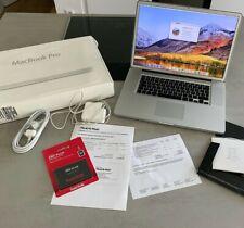 "Apple MacBook Pro  17"" 2,66GHz i7 512GB 8GB Ram Mattes Display ( Mitte 2010) OVP"