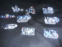9 Micro Machines Military - Terror Troops Blue Camo