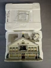 Hawthorne Village Rockwell's Studio Christmas village collection with bonus NIB
