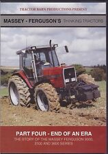 Story Of The MASSEY FERGUSON 3000 3100 3600 SERIES Thinking Tractors DVD