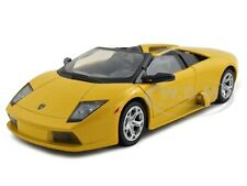 LAMBORGHINI MURCIELAGO ROADSTER YELLOW 1:24 MODEL CAR BY MOTORMAX 73316