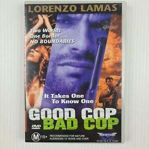 Good Cop Bad Cop DVD - Lorenzo Lamas - All Regions PAL - TRACKED POSTAGE