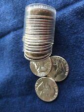 20 Coin Roll 1963-P Franklin Half Dollar B.U. Brilliant Silver Uncirculated