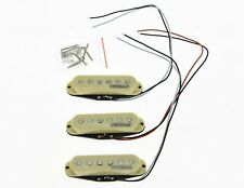 * NEW Wilkinson for Fender Stratocaster PICKUP SET Strat Pickups Cream Covers