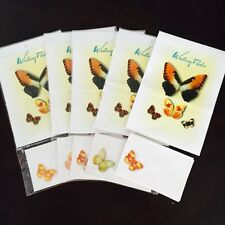 Vintage100 pages 50 envelop stationery writing paper with Envelopes---butterfly