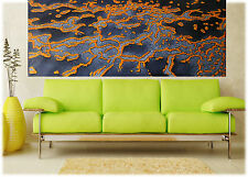 """Art Painting Canvas Abstract reef  Landscape Modern Contemporary 63""""  x 32"""""""