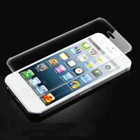 High Quality Premium Real Tempered Glass Screen Protector for iPhone 5 5S 5C SE