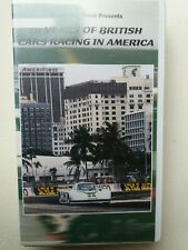 50 Years of British Cars Racing in America - video VHS - As new