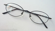 Oldschoolbrille Narrow Metal Version Glasses Men's Cheap Black Size M