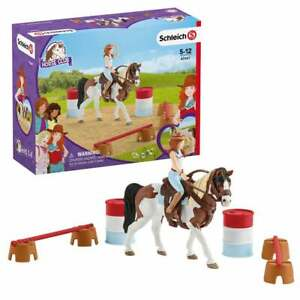 Schleich Horse Club Hannah's Western Riding Set inc Tennessee Walker Mare Figure