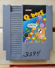 Q-Bert Nintendo NES Video Game Cartridge Working Clean Tested