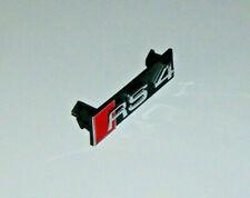 NEW GENUINE AUDI RS4 QUATTRO FRONT GRILLE RS4 EMBLEM 8E0853736E 2ZZ