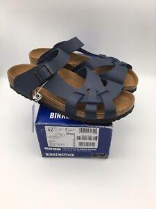 Birkenstock Pisa Blue Slide Sandals Women's Size 42/ 11-11.5 US