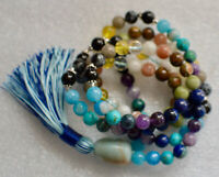 Psychic Mala Beads for awakening Third Eye Chakra Mala Beads Necklace, Intuition