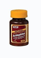 Rugby Natural Acidophilus with Citrus Pectin 100 Count Each
