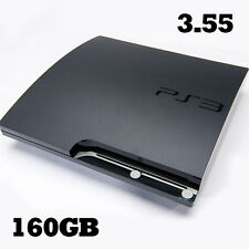Sony PS3 Playstation 3 Slim 3.55 Firmware 160 Go Disque dur OFW officiel console rebug
