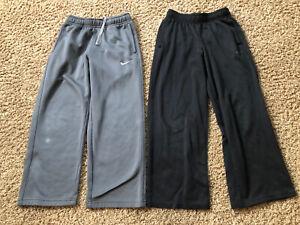 NIKE C9 CHAMPION Boys Sweatpants Athletic Pants ~ Size 8 S Small ~ 2 Pairs
