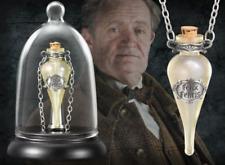 HARRY POTTER FELIX FELICIS POTION PROP REPLICA NECKLACE PENDANT + GLASS DISPLAY