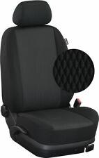 Renault Master ab 2010 Maß Sitzbezüge Vordersitze 2-Sitzer: Paris/schwarz