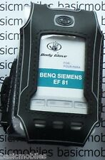 BenQ Siemens EF81 Black Body Glove BodyGlove Mobile Phone case