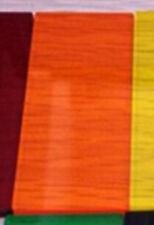 2 pcs Colourful Transparent Acrylic Panel Sheet Plexiglass Plastic Plate #B5P