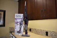 Black And Decker SMARTECH Cordless Lithium 2-IN-1 Stick Vacuum (Eggplant Purple)