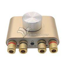 Mogu 30Wx2 Mini Bluetooth Amplifier HIFI Audio 2.0 Channel Amp with Power Supply