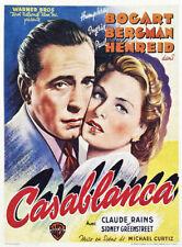 CASABLANCA - FILM POSTER