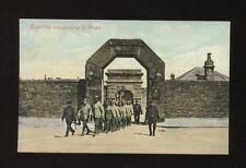 Devon DARTMOOR Prison Convicts proceeding to work PPC c1900/20s? by Valentine