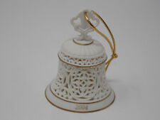 Wedgwood White Bell Ornament - 2004 - Made in China