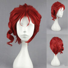 "JoJo's Bizarre Adventure Noriaki Kakyoin Red Cosplay 12""/30cm Wig Party Hair"