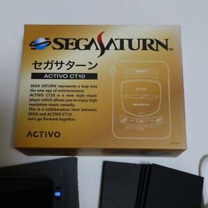 Activo CT-10 Sega Saturn Limited Audio Player Gray Model Groovers