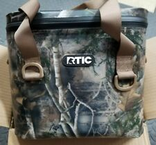 RTIC Soft Pack Lunchbox Flipper Hopper Camo RTIC Softpak Cooler Lunch Box Bag