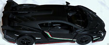 Black Lamborghini Veneno Lambo Door Super Car Auto Die-Cast Model Miniature