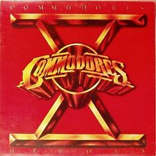 THE COMMODORES 'HEROES' PORTUGUESE LP