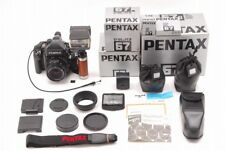 **MINT in BOX** Pentax 67II Film Camera w/ SMC P 90mm F/2.8 Lens,grip Japan