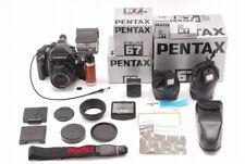 【MINT in BOX】Pentax 67II Film Camera w/ SMC P 90mm F/2.8 Lens,grip Japan #174