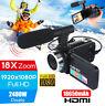 HD 1080P Digital Video Camera Recorder 18X Zoom Camcorder DV Night Vision
