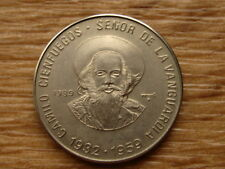 World Coin RARE $1 1989 Camillo Cienfuegos, UNC