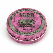 Reuzel Pink Pomade Heavy Grease 1.3 oz. Hair Wax & Pomade. A Barbershop must